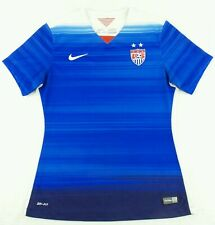 Authentic Nike 2015 USA National Team Womens Soccer Jersey Size Medium M