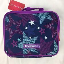New American Girl Child Stars Purple Lunch Box Bag