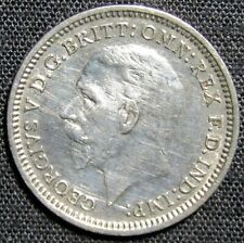 New listing 1935 Great Britain 3 Pence Silver Coin