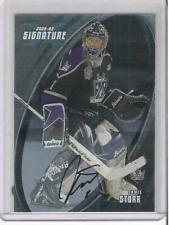 2002-03 IN THE GAME SIGNATURE JAMIE STORR AUTOGRAPH