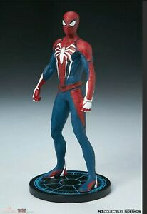 PCS Collectibles Marvel Spider-Man Advanced Suit 1:10 Scale Resin Statue New
