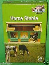 Kids Globe 610002 Pferdestall aus Holz 1:24 mit 2 Boxen Blitzversand per DHL