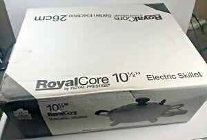 Royal Prestige Royal Core Electric Skillet 10.5 inch NEW CO66570