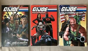 G.I. Joe Disavowed Vol. 1-3 TPB Lot In Great Condition - 3 Books Total