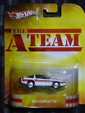 2013 HOTWHEELS - Retro entertainment D - THE A TEAM 80's Corvette