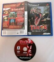 PLAYSTATION 2 - PS2 Turok Evolution Game Boxed Acclaim 15+ PAL Euro UK 2002 Sony