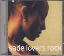 Sade-Lovers Rock cd album