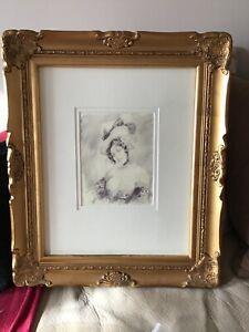 Norman Lindsay framed limited edition print