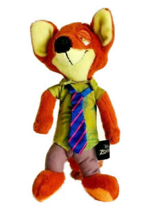 Nick Wilde #Sly Fox   Disney Zootopia   Plush Soft Toy   23cm   Pre-owned