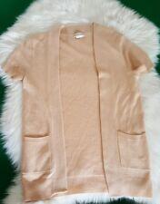 J crew women's 100% Cashmere open front cardigan - XS