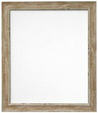 Frames by Post 50 X 70 Cm Plastic Glass Nordic Distressed Picture Photo Frame W