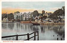 BOWNESS BAY CUMBRIA UK OLD ENGLAND HOTEL~PEACOCK AUTOCHROM POSTCARD