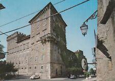 GIOVE (TERNI) CARTOLINA ANNI '60 COL CASTELLO DUCALE con AUTO  VIAG,OTTIMO STATO