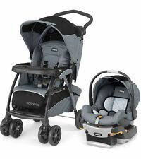 NEW Chicco Cortina CX Stroller & KeyFit 30 Infant Car Seat Secure Travel System