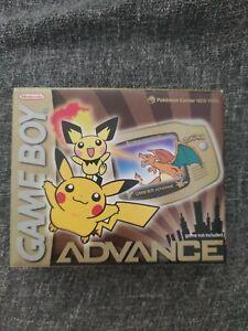 Nintendo Game boy advance sp Pikachu Edition Pokémon Center NY Édition !Scellée