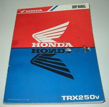 Werkstatthandbuch Honda Quad TRX 250 V Shop Manual Stand 1997