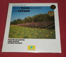 HENRI TEXIER QUARTET  JOE LOVANO LP ORIG FR  LABEL BLEU  PARIS BATIGNOLLES