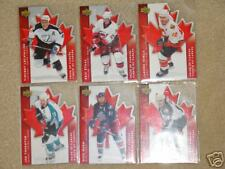 Mcdonalds 07 08 Pride of Canada Insert Set Iginla Nash