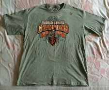 NEW ADULT XL MAJESTIC 2010 SAN FRANCISCO GIANTS WORLD SERIES CHAMPIONS T-SHIRT