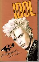 Billy Idol Whiplash Smile 1986 Hard Classic Rock Roll Cassette Tape Pop