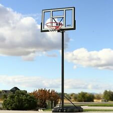 "Portable Basketball Hoop 46"" Adjustable 8 - 10 Ft Outdoor Quick Adjust Backboard"