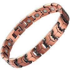 Red Copper Magnetic Bracelet Pure Solid Copper For Women & Men Unisex Design