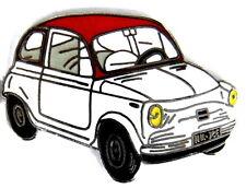 AUTO PIN/PINS-FIAT 500 un classico, smaltato [1369]