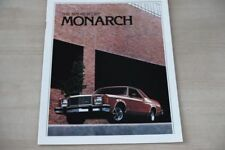 185421) Mercury Monarch - USA - Prospekt 1979