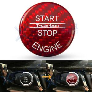 Carbon Fiber Cap Trim for BMW Keyless Button for BMW E-Chassis E90 E60 Z4 etc