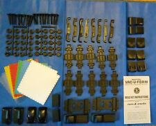 Vintage Mattel Vacuform Vac-u-Form Lot of Car Truck Parts Molds Plastic Sheets