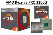 AMD Ryzen 3 PRO 2200G Quad Core ''Raven Ridge'' 3.5 - 3.7 GHz, AM4, 65W CPU