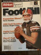 NFL Pro Football Magazine 2002 Preview Edition Rare