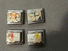 4 M & M Candy Casa D'oro Italian Charm Lot 9mm Licensed 100% Authentic New