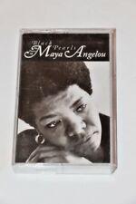 Black Pearls The Poetry of Maya Angelou Cassette Tape