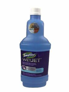Swiffer WetJet Floor Cleaner Refill Liquid Fresh Scent Multi Purpose 42.2 oz.