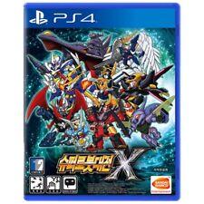 PS4 Bandai Super Robot Wars X Korean Version