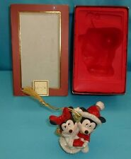 Lenox Mickey & Minnie Mouse 2006 1st Christmas Together Ornament in Box Disney