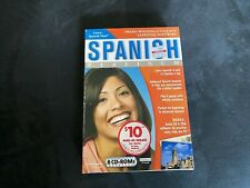 Learn SPANISH Now PLATINUM 8 CD-ROMs Windows/ Mac and XP Compatible
