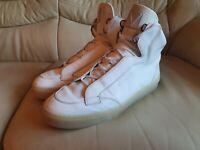 Mens Louis Vuitton White Damier Shoes Boots Trainers UK 8  Eur 42   US 9