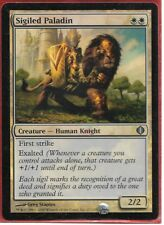 MTG magic 1x Sigiled Paladin FOIL (BENDED) Shards of Alara
