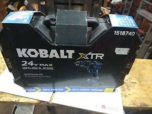 Kobalt 24v XTR Drill Hard Case with cover