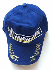 Enrique Bernoldi Hand Signed Michelin Podium Cap.