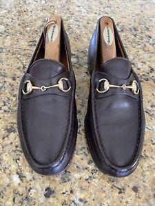 Gucci Horsebit Mens Dress Shoes  Brown