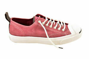 Converse Unisex Jack Purcell Ltt Oxheart Shoes Leather Red Size EU 42.5