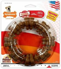Nylabone Dura Chew Textured Ring - Flavor Medley For 50+ lb Dogs Dog Chew Toy