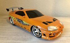 Jada Toys Fast And The Furious 1995 Toyota Supra R/C 97582 Orange - No Control