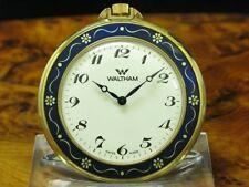 Waltham Gold Mantel Open Face Taschenuhr / Ref 10-0300-00
