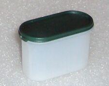 Tupperware Mini Modular Mates Oval Fridge Magnets with Green Seal - RARE !