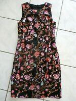 White House Black Market Floral Embroidered Sheath Dress Sz 2 retail $200 B788