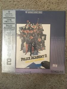 Police Academy 2 - Their First Assignment Laserdisc - JAPAN Release w/OBI